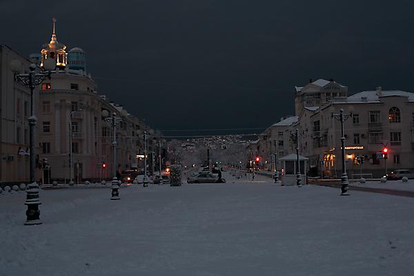 УРА! Первый снег :)