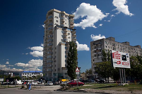 Пересечение улиц Куникова и Фабричной