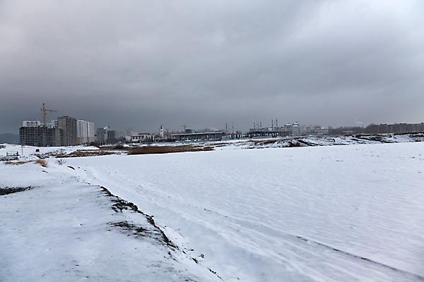 Прогулка по Суджукской косе зимой