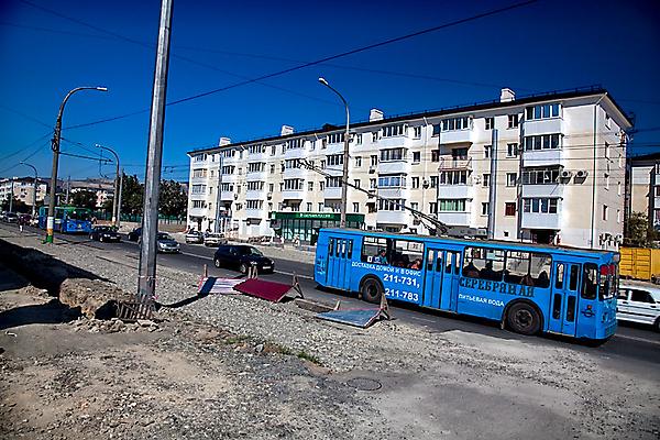 Проспект Ленина преображается
