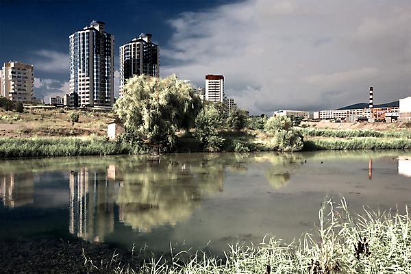Героев Десантников - озеро помойка