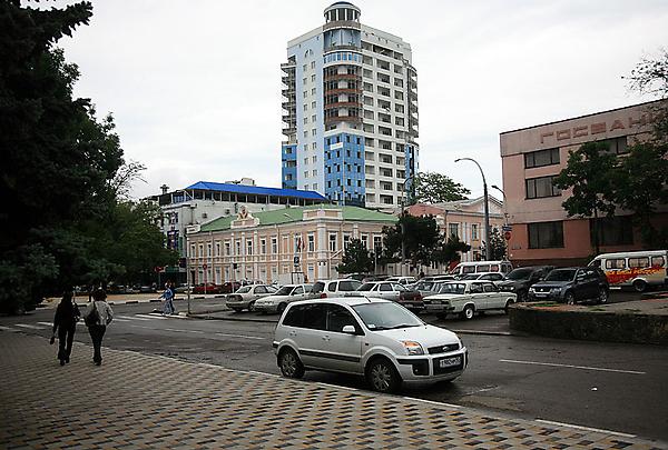 Пересечение улиц Советов и Новороссийской республики