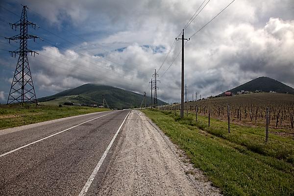 По дороге в Широкую балку