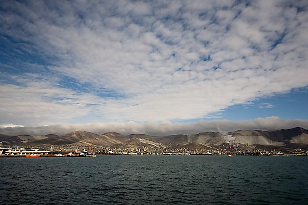 Вид на Цемесскую бухту