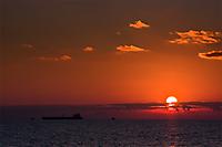 Закат в Широкой балке