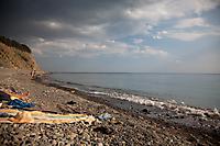 Репортаж с пляжа Сухой щели