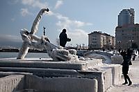 Набережная Новороссийска после норд-оста