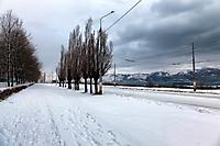 Новороссийск. Проспект Ленина зимой