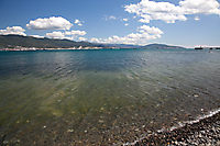 Пляж в районе кинотеатра Нептун