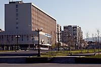 Улица Исаева. Гостиница \