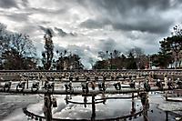 Скелет музыкального фонтана