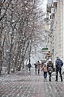 Первый снежок :)